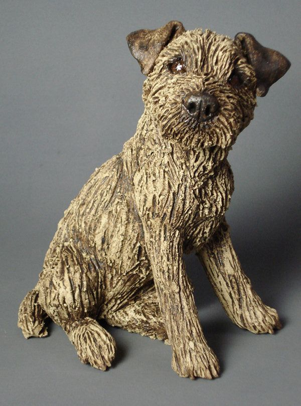 Border Terrier 2013 Animal Sculptures Dog Art
