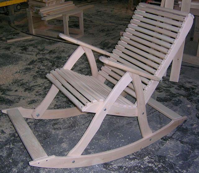 Кресло качалка своими руками из фото чертежи и ход работы