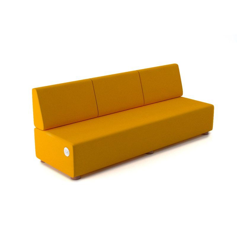 Super Pods By Dre Vinyl 3 Seater Lounge Sofa In 2019 Hickory Uwap Interior Chair Design Uwaporg