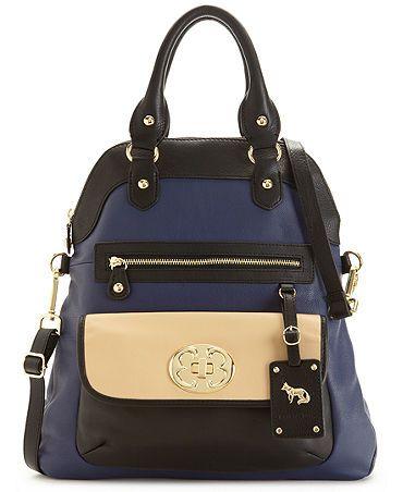Emma Fox Handbag Purse Classic Leather Fashion Backpack Beautiful