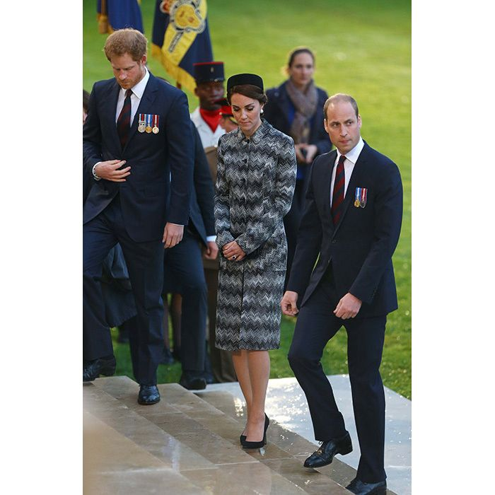 Prince William, Kate and Prince Harry mark the Somme 100 anniversary in France - HELLO! Canada