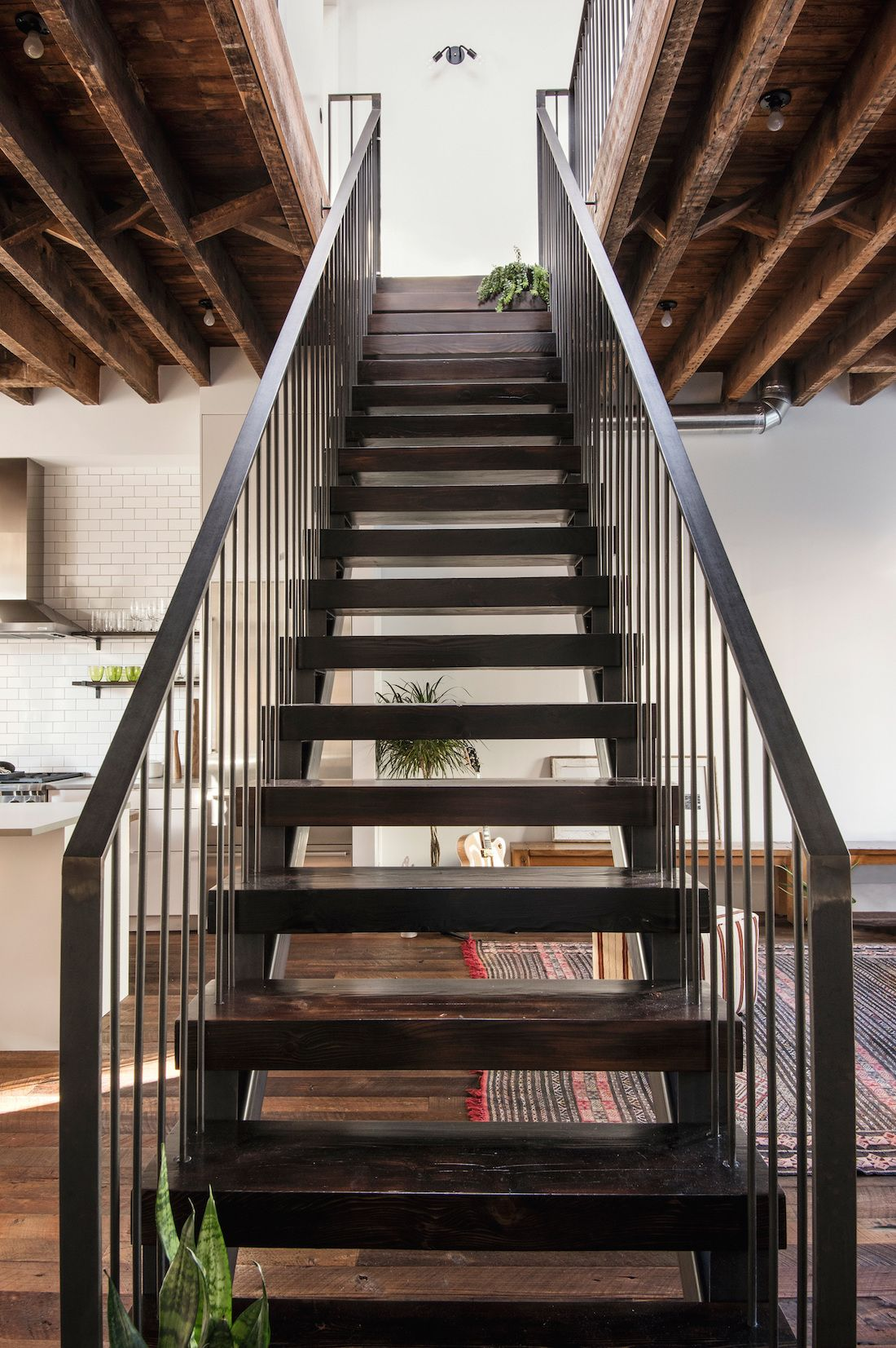 A Whole House Overhaul In Brooklyn With A High/Low Mix (Remodelista:  Sourcebook For The Considered Home). TownhouseMetal StairsWooden  StepsCeramic ...
