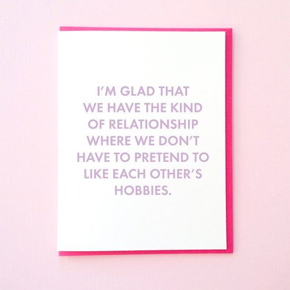 Love You Funny Card Card for Boyfriend Card for Him Funny
