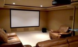 Beautiful Home Theater Room Decor » Picture 282