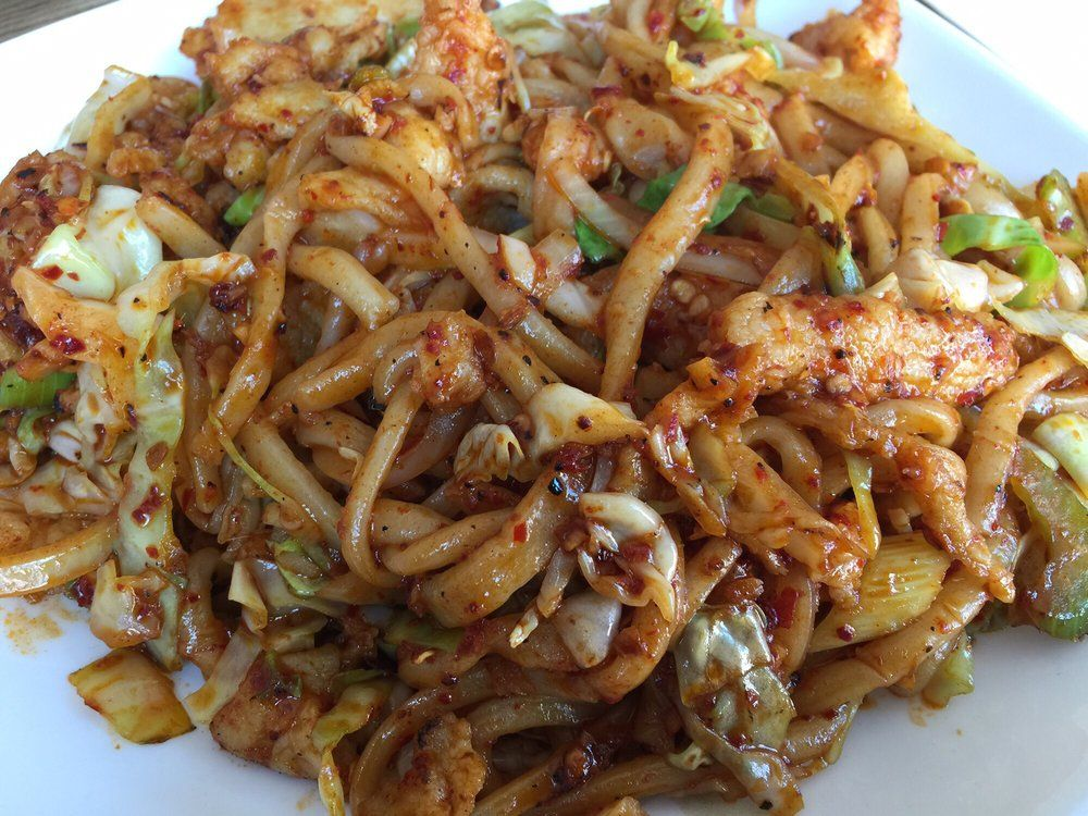 Hand Pulled Pan Fried Noodles | Recipe in 2020 | Pasta dishes, Cooking recipes, Noodle house