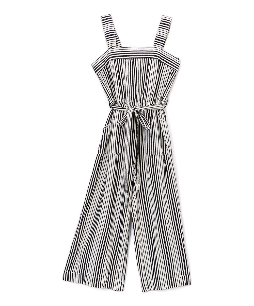 32f4cc84e120 Chambray Denim Stripe Jumpsuit - Girls