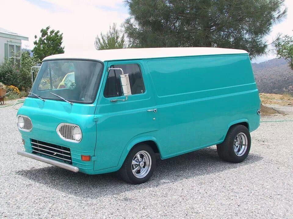 Ford Econoline Van Custom Vans Vintage Trucks Ford Van