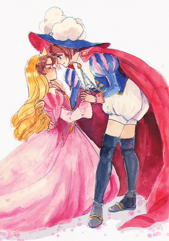 birries: Princess Syaoran and Prince Sakura - my 2nd piece for CCS zine: Tomoyo's Secret Diary