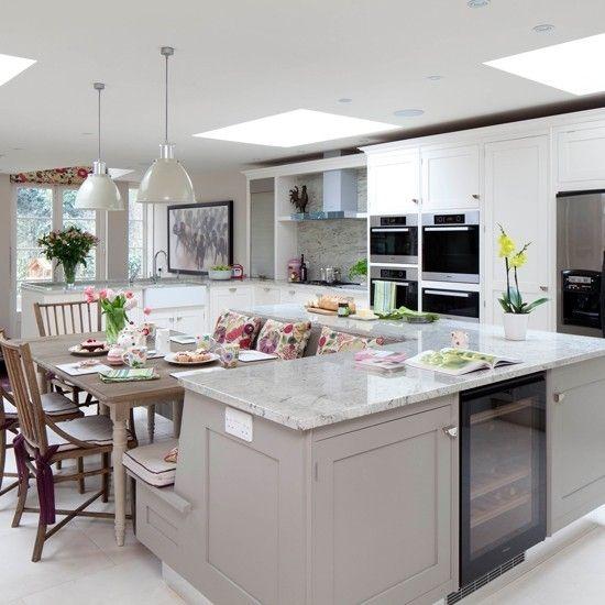 21 Kitchen Island With Bench Seating Ideas Kitchen Remodel Kitchen Design New Kitchen