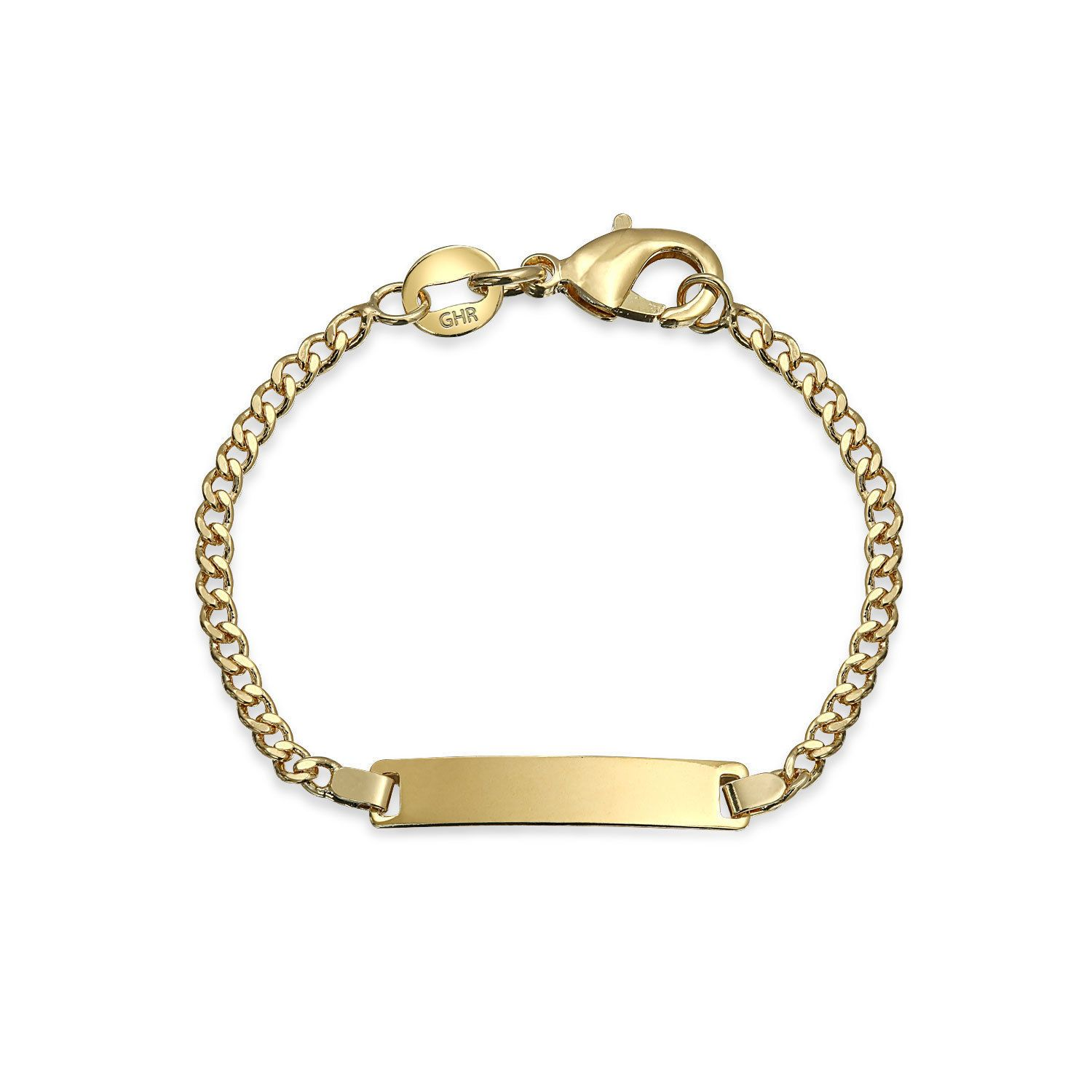 Bling jewelry gold filled childrens baby id bracelet in products