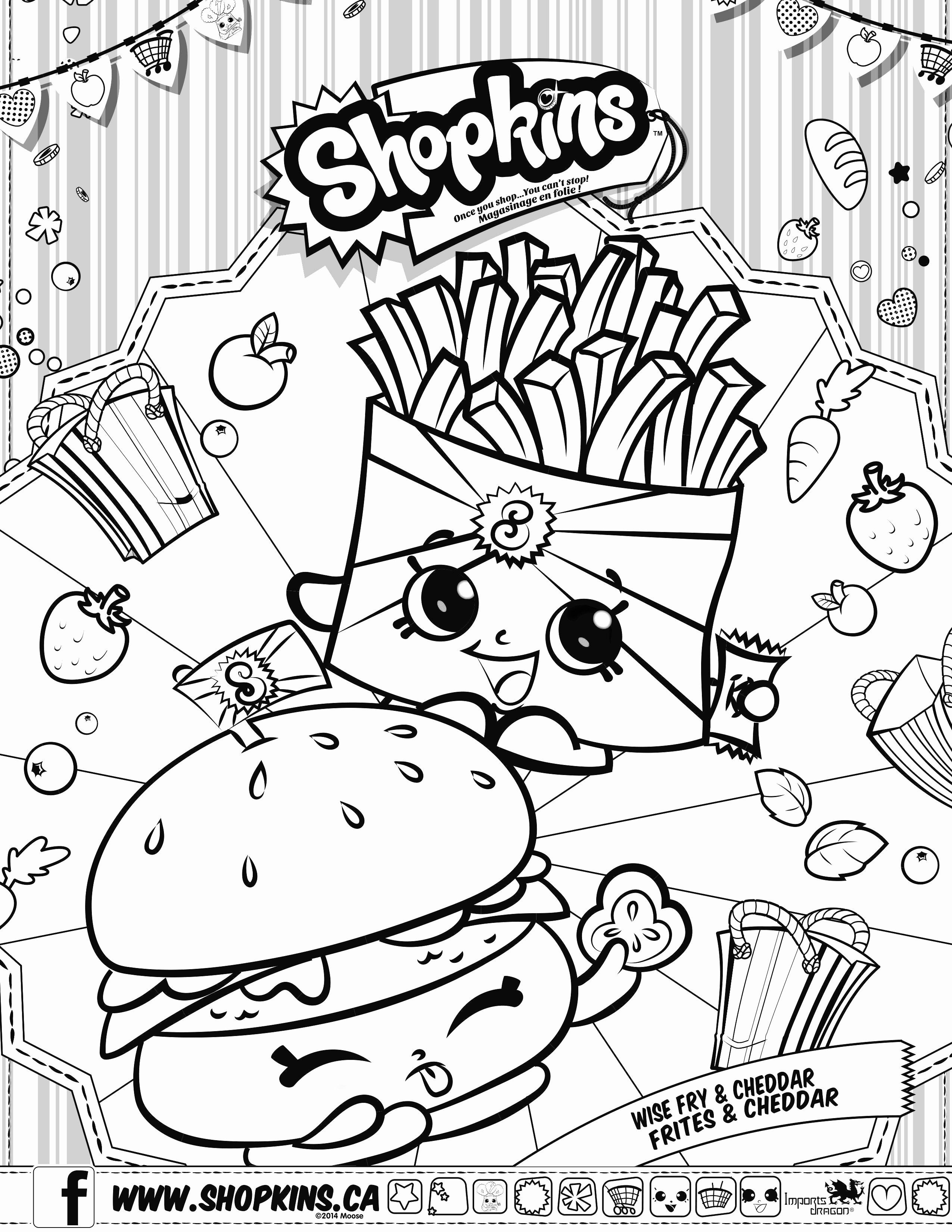 Pin On Example Shopkins Coloring Pages
