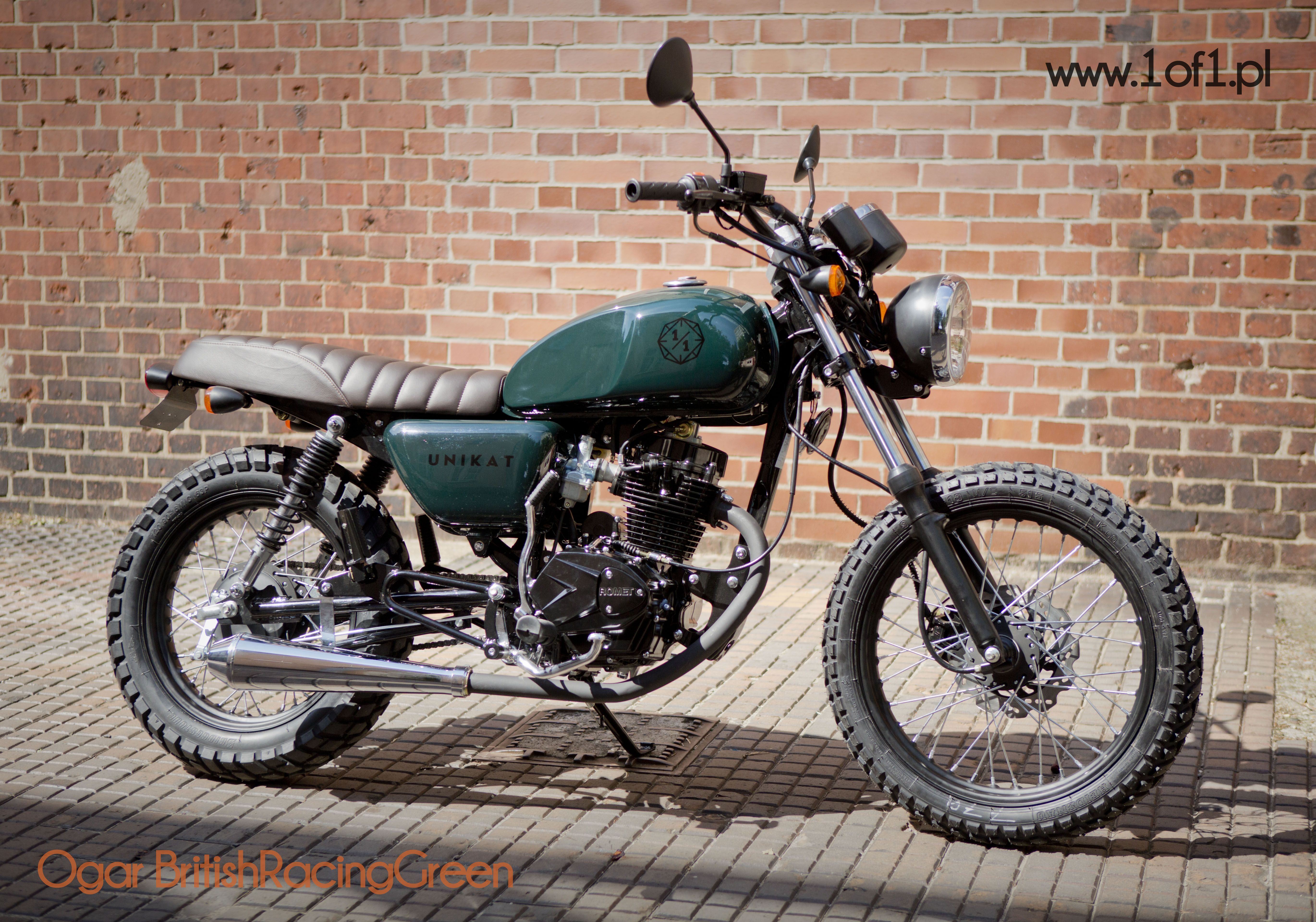 ogar 125 ccm type x beautiful scrambler custom by unikat motorworks. Black Bedroom Furniture Sets. Home Design Ideas
