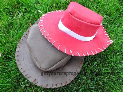 Get Your Crap Together  31 Days of Halloween  Foam Cowboy Hat Tutorial 4d3a61ec256