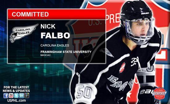 Carolina Eagles Elite Nick Falbo Earns NCAA DIII Commitment to Framingham State University