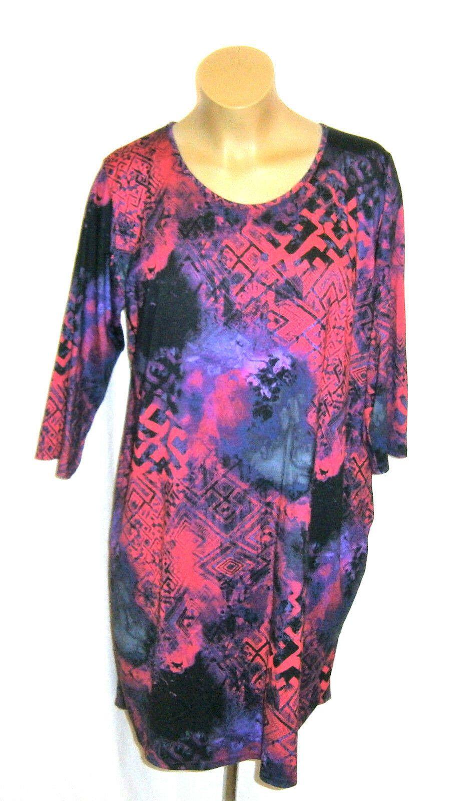 Ophilia: Kleid pink/lila/schwarz 17/17 Arm Gr. 17 (178 170 172) anstatt