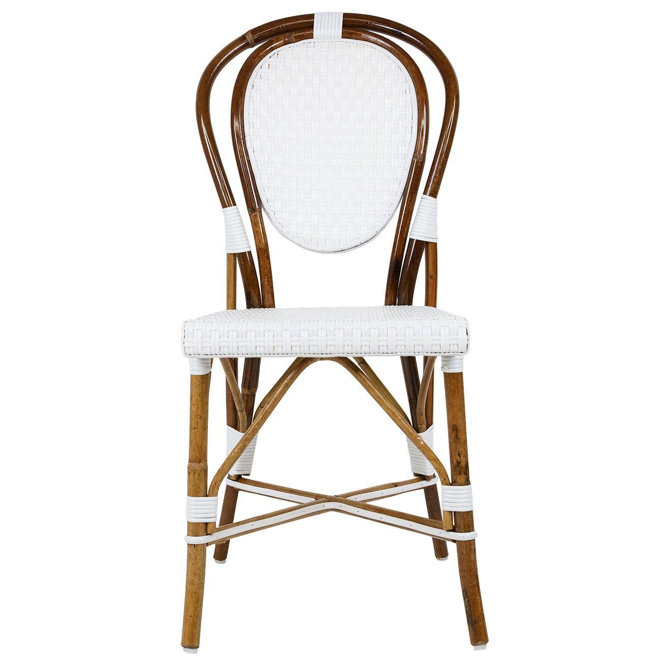 Prime White Mediterranean Bistro Chair E Maison Midi Is The High Home Interior And Landscaping Ponolsignezvosmurscom