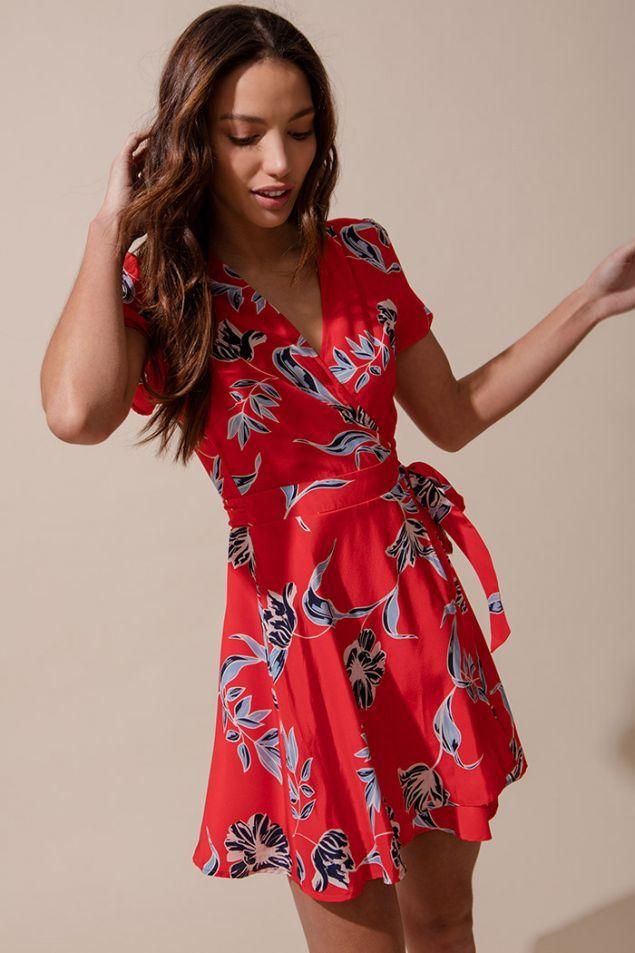 Kennedy silk dress wrap dresses crossover and neckline kennedy silk dress ccuart Gallery