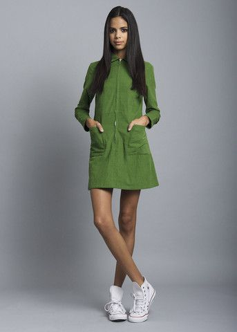Green Leap Dress