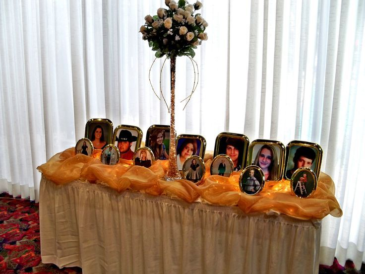 50th wedding anniversary table ideas for Table decoration 50th birthday