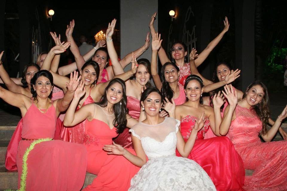 Coisas de noiva_madrinhas coral_inspiração