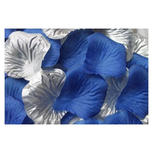 500X Black Silk Artificial Fake Flower Rose Petals Confetti Wedding Party Decor