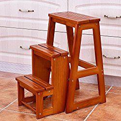 portable folding step stool 3 step foldable ladder chair bench multi rh pinterest com