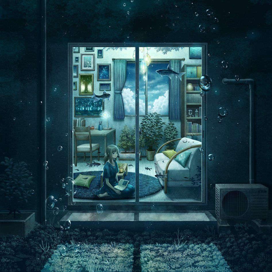 風海さんのイラスト おしゃれまとめの人気アイデア pinterest nắng アニメの風景 イラスト アートプリント