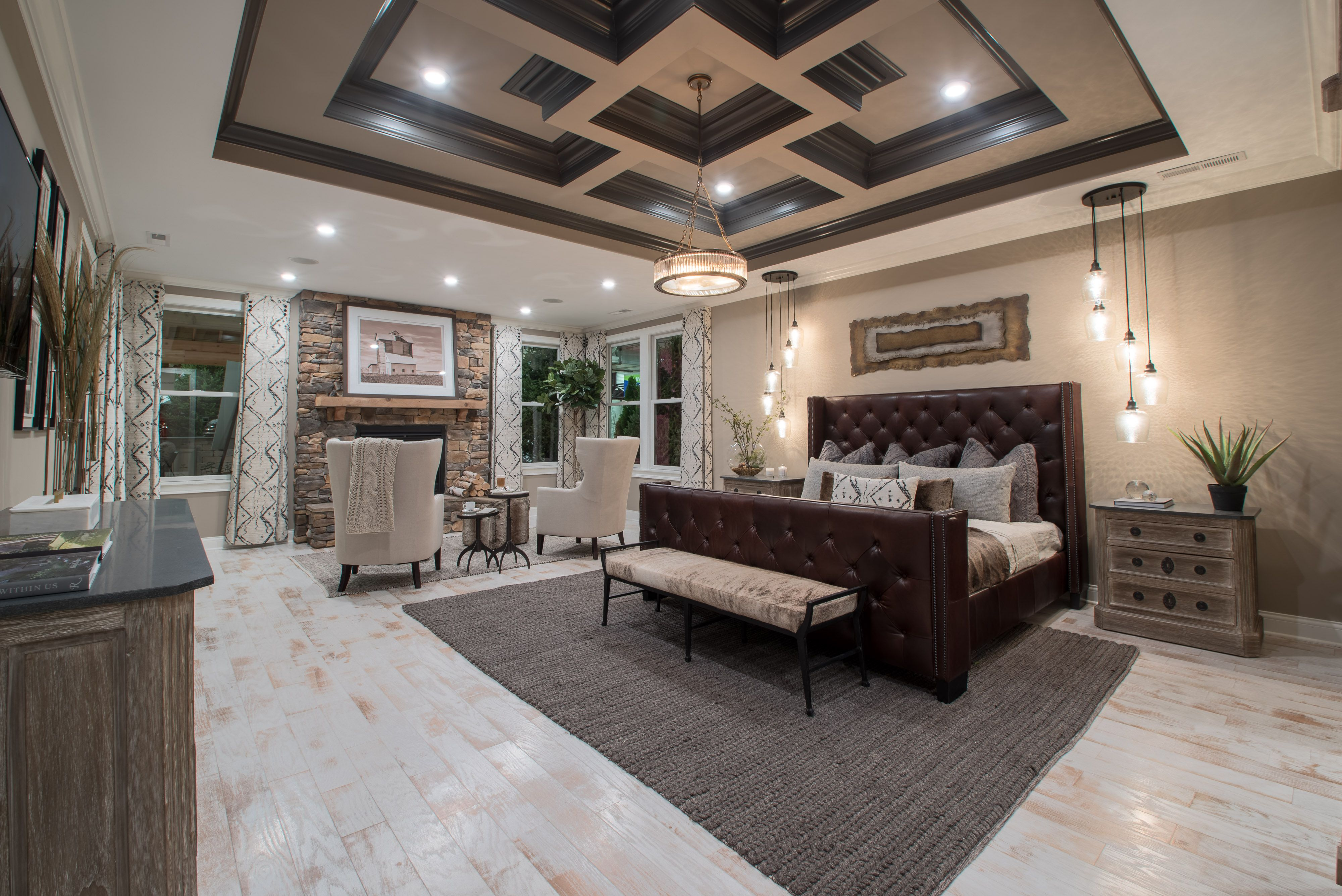 The Owner S Suite In The 2018 Centerpiece Home Features An