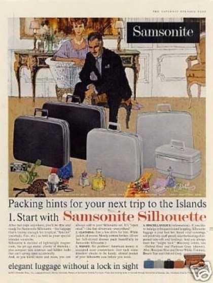 Samsonite Silhouette Luggage (1961)