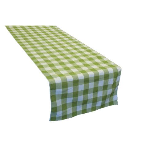 Found it at Wayfair - Checkered Fourteen Table Runner