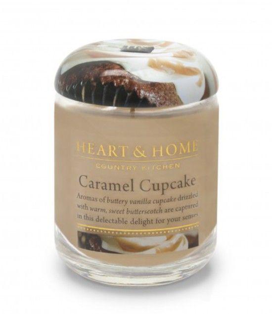 Large Jar Candle – Caramel Cupcake 310g