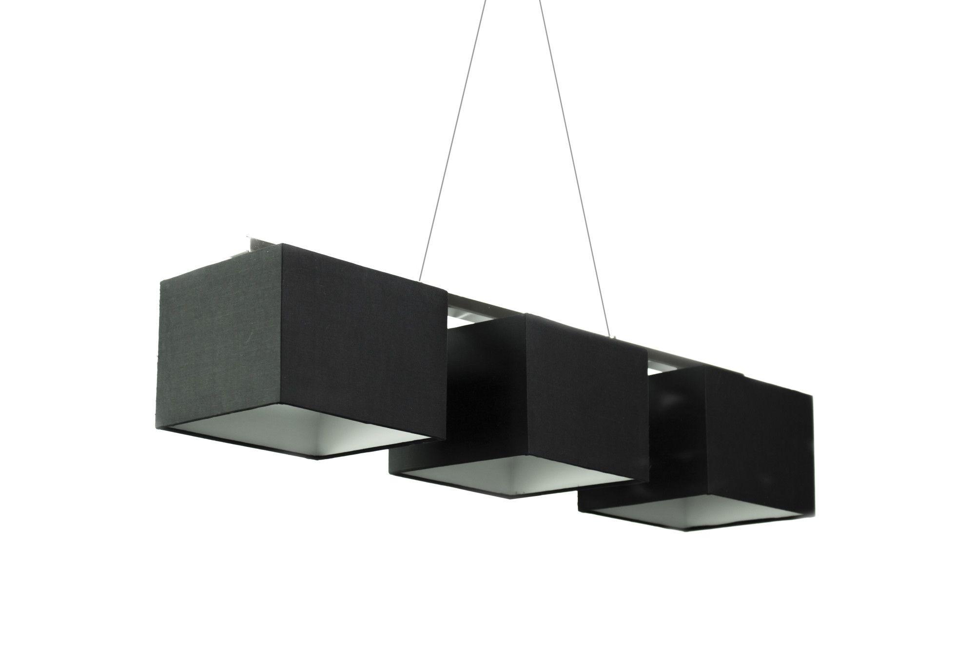 Rectangular Metal Canopy Pendant Lamp