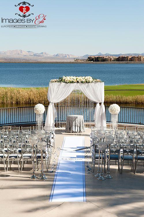 Westin Lake Las Vegas Resort Wedding Details At Lotus Court
