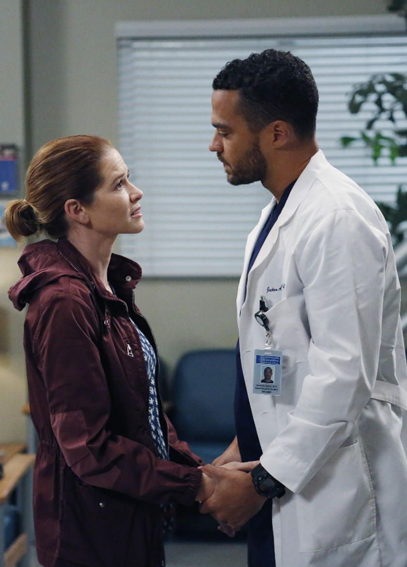 Grey's Anatomy Mega Buzz: Are Jackson and April Ready to Call It Quits?