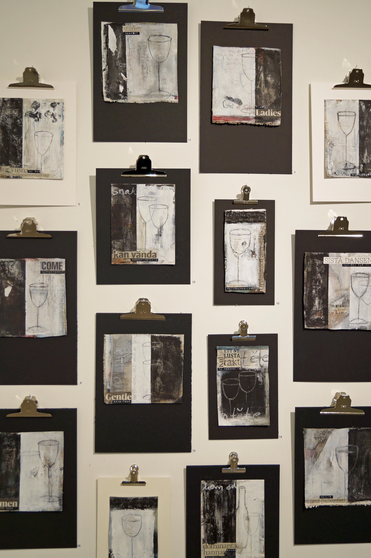 Carola kastman black and whitewalllot of design development