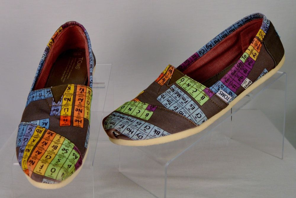 Periodic table periodic table toms ebay periodic table of periodic table periodic table toms ebay toms toddler boys 10 gray blue slip on shoes urtaz Images