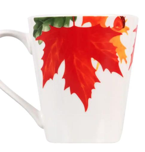 Fall Leaves Ceramic Mugs #ceramicmugs