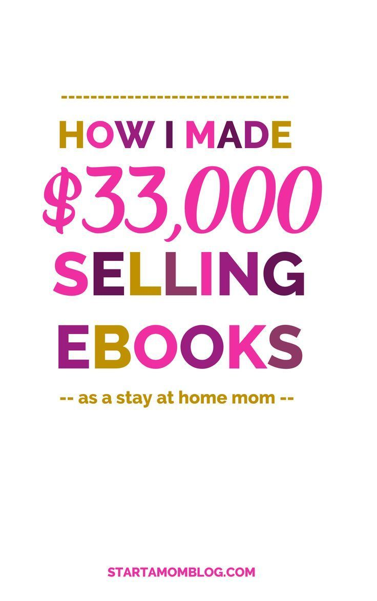 EbookbyNumber - Start a Mom Blog