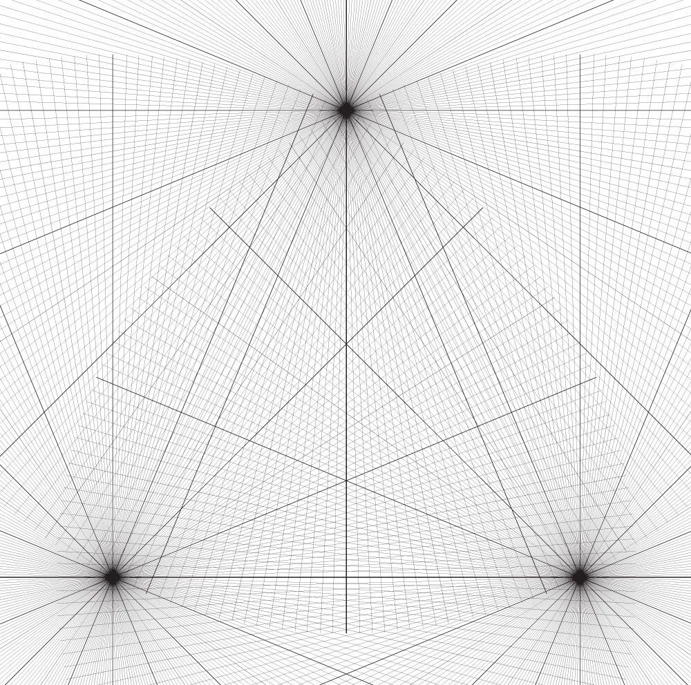 Free Perspective Grids Adam Miconi Artwork In 2020 Perspective Isometric Graph Paper 3 Point Perspective