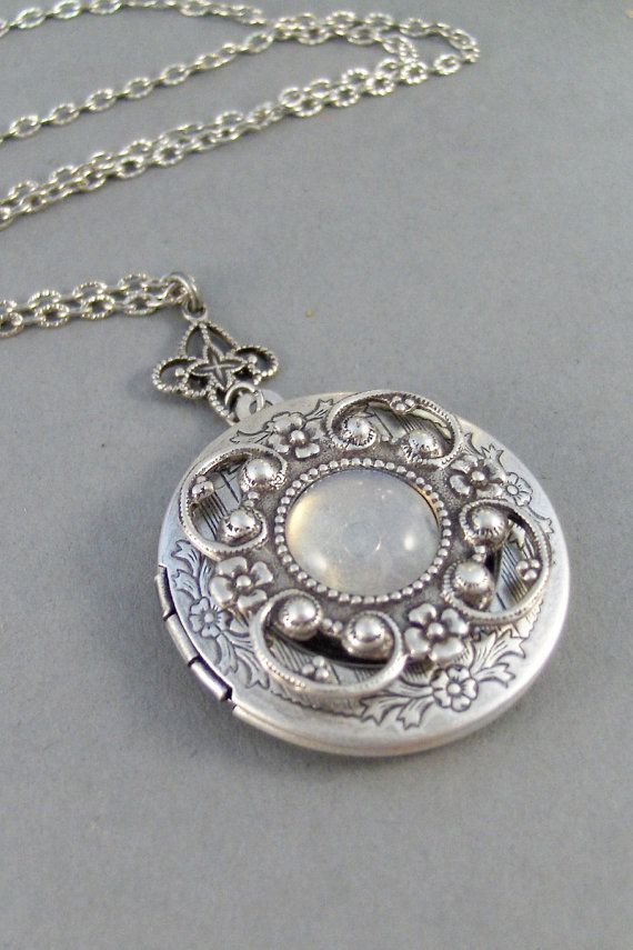 pendant large cubic p zirconia silver beaverbrooks locket lockets context oval