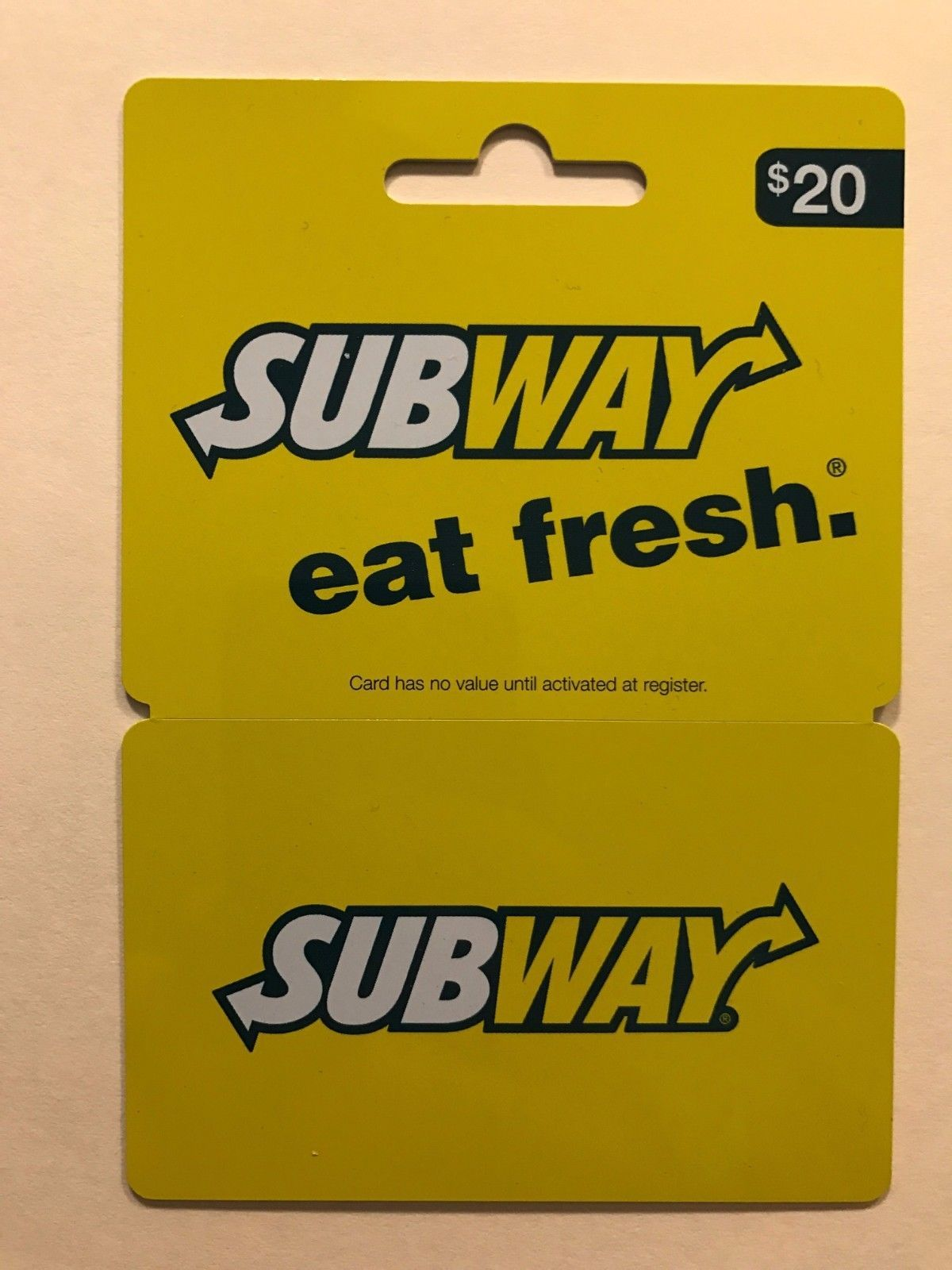 Coupons giftcards 20 subway gift card coupons