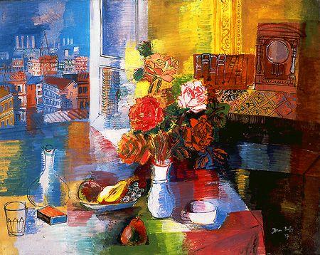 Jean Dufy, Nature morte au bouquet