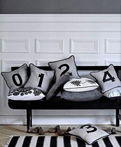 decoracin con blanco y negro