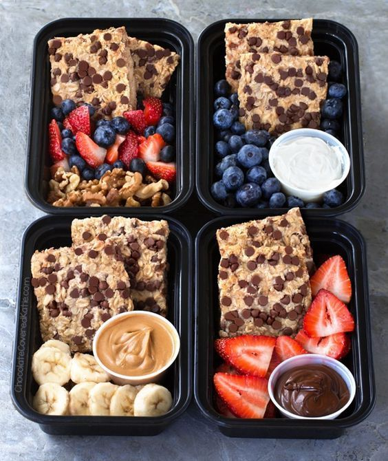 Breakfast Meal Prep – 20 Healthy Recipes! (Chocolate-Covered Katie) #healthyrecipes