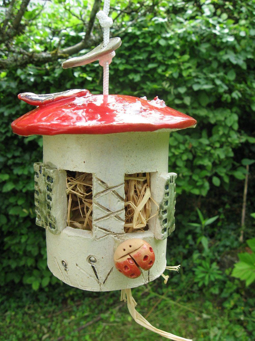 insektenhotels insektenhotel k ferh uschen fliegenpilz. Black Bedroom Furniture Sets. Home Design Ideas
