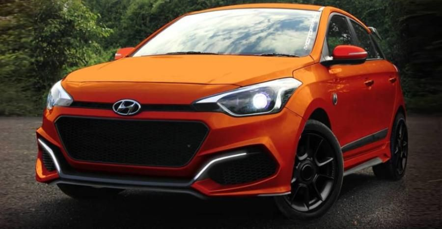 Hyundai I20 Elite With Custom Body Kit From Motormind Looks Sharp
