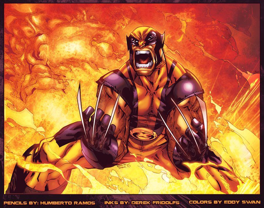Wolverine Humberto Ramos by *Eddy-Swan on deviantART