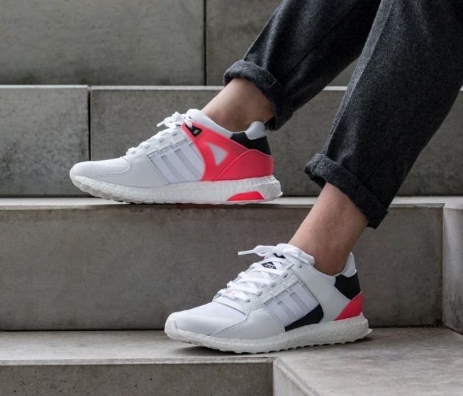 Adidas Equipment Support Ultra Grey White Red Black Shoes
