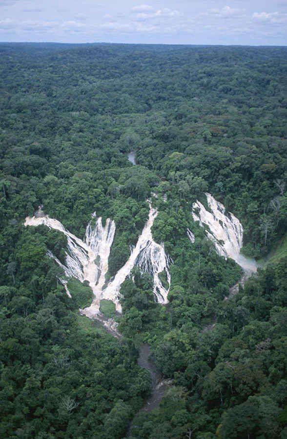 Djidji waterfalls, Gabon, Africa