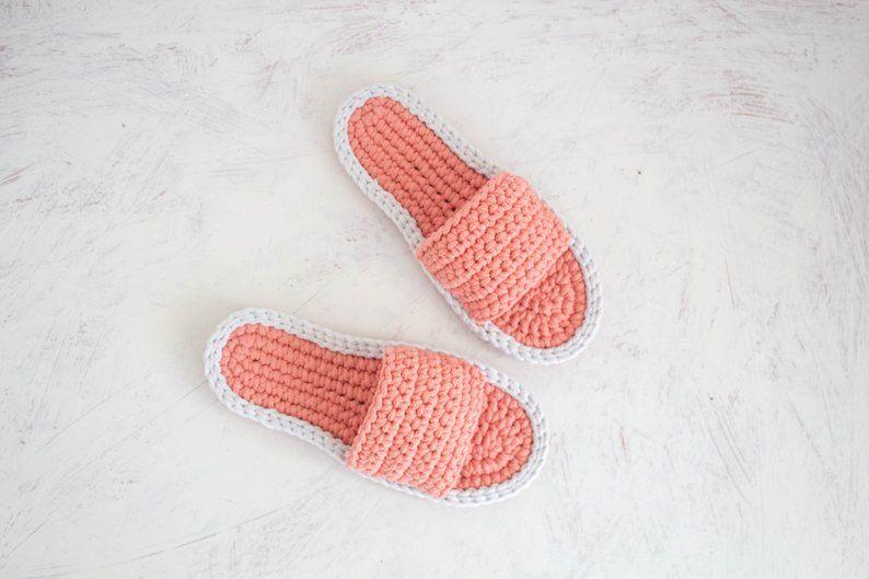 784ee4509d641 Flat wedding shoes - Handmade sandals - Crochet shoes - Bridesmaid ...